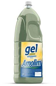 Pinho Gel Amolim 2lts Pacote C/6 Unid.