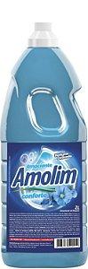 Amaciante de Roupas Amolim 2l Pacote C/6 Unid.