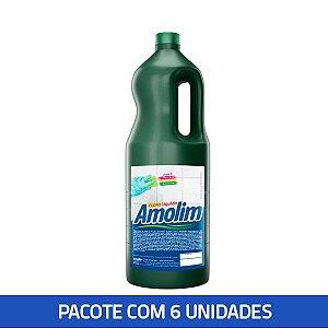 Cloro Líquido Amolim 2lts Pacote C/6 Unid.