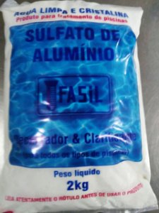 Sulfato de Alumínio Fasil  2 Kg