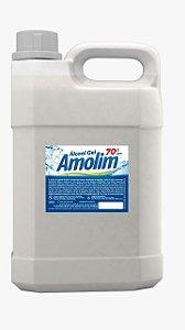 ALCOOL EM GEL 70 INPM AMOLIM 5 LTS