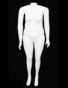 MANEQUIM PLUS SIZE FEMININO (BASE VENDIDA SEPARADAMENTE)