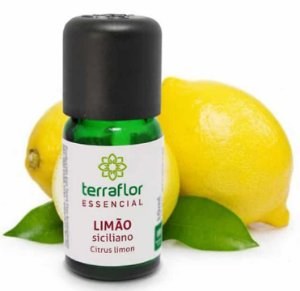 Óleo Essencial de Limão Siciliano 10ml