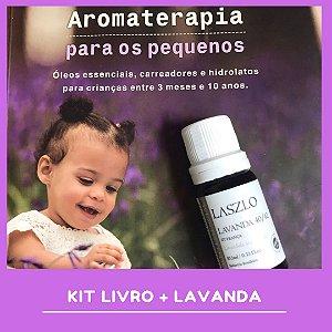 Livro Aromaterapia Para os Pequenos com Óleo Essencial de Lavanda