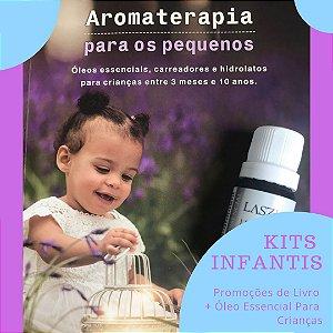 Kit Livro Aromaterapia Para os Pequenos + Óleo Essencial