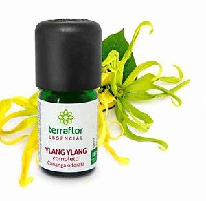 Óleo Essencial de Ylang Ylang Completo 5ml