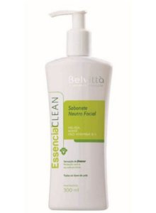 Essencial Clean – Sabonete Neutro Facial - 300ml - Belvittà