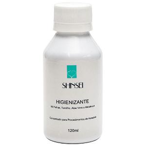 Higienizante para Mãos e Pés - 120ml - Shinsei Cosméticos