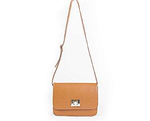 732fa88859 Bolsa Transversal Irving Bag em Couro Natural Legítimo Caramelo