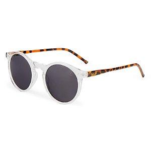 Óculos de sol redondo - Bicuiba - Cristal/tartaruga