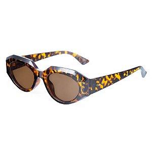 Óculos de sol gatinho - Lobo Guará - Tartaruga
