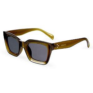 Óculos de sol quadrado - Saíra Militar - Verde