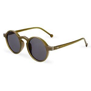 Óculos de sol redondo - Uacari - Verde