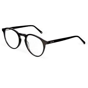 Armação para óculos de grau redondo - Iguaçu - Preto