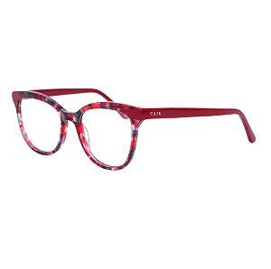Armação para óculos de grau gatinho - Corcovado - Vermelho