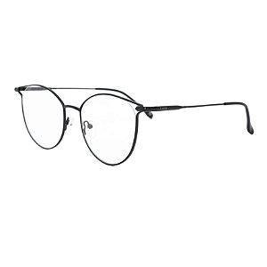 Armação para óculos de grau gatinho - Andorinha - Preto