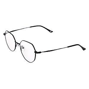 Armação para óculos de grau hexagonal - Ciriguela - Preto