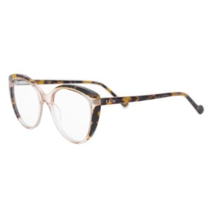 Armação para óculos de grau gatinho - Guaporé - Rosa cristal/Tartaruga