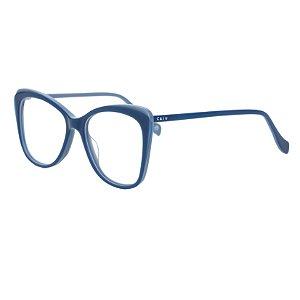 Armação para óculos de grau gatinho - Boto - Azul