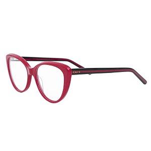 Armação para óculos de grau gatinho - Arara - Vermelho