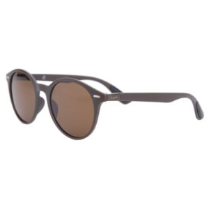 Óculos de sol redondo - Café - Marrom