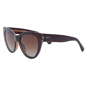 Óculos de sol gatinho - Jabuticaba - Marrom