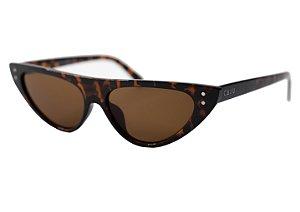 Óculos de sol retrô gatinho - Pé de moça - Tartaruga