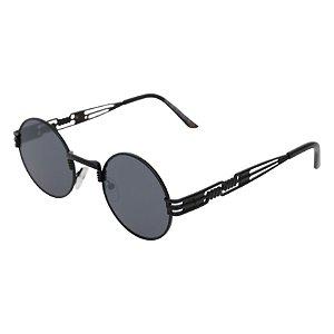 Óculos de sol redondo - Pequi - Preto