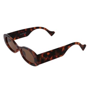 Óculos de sol retrô gatinho - Pantanal - Tartaruga