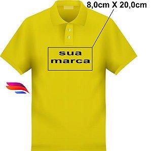 485ce21faf Camisa Pólo Pique - Personalizada - Tamanhos (P-M-G-GG) - com Bordado Médio  zoom