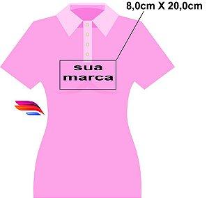3cb64e563b Kit com 02 Camisas Pólo Pique - Personalizada - Tamanhos (P-M-G-GG) - zoom