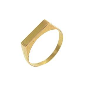 Anel de Chapinha em Ouro Amarelo 18k - PC 2.27