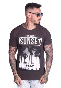 Camiseta Gambling Sunset