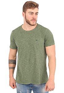 Camiseta Básica Flamê Verde