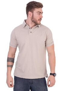 Polo Basic Bege