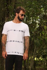 Camiseta White Blur