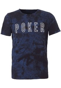 Camiseta Poker Blue
