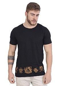 Camiseta Golden Royalty