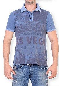 Polo Slim Fabulous Vegas Azul