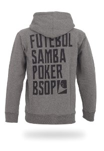 Moletom BSOP Futebol Samba Poker