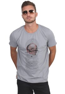 Camiseta Disco Skull