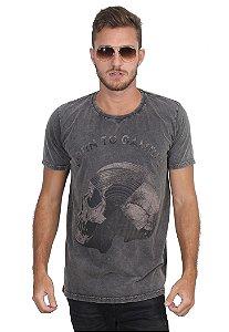 Camiseta Marmorized Skull