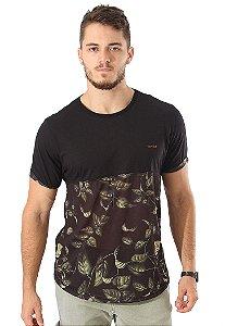 Camiseta Cammo Flowers