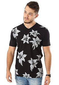 Camiseta Black Flowers