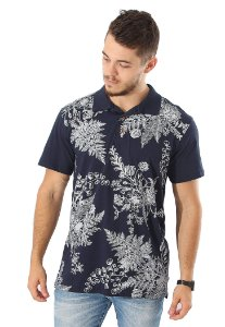 Polo Navy Flowers
