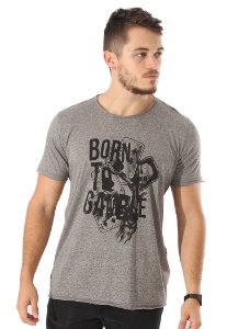Camiseta Born to Gamble Mescla
