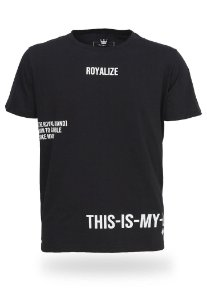 Camiseta Royalize Black