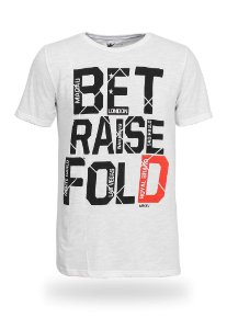 Camiseta Bet Raise Fold