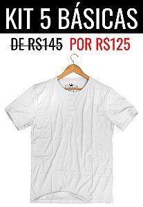 Kit Promocional 5 Básicas de R$145 por R$125