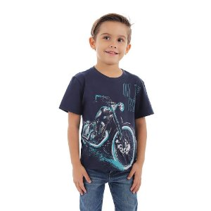 Camiseta Infantil Menino Hit The Road